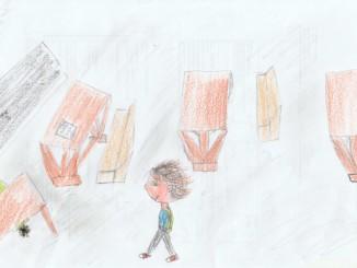 Dibuix fet per la Lorena, 11 anys (Tarragona)