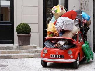 Viatjar en família: el cotxe ple de maletes!