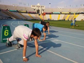 Compte enrere per la cursa de 110 metres tanques a Open Camp - Foto: YouMeKids