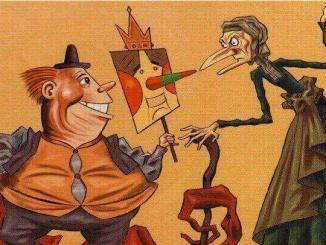 El rei carnestoltes i la vella quaresma