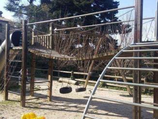 Parc infantil de la Masia Sagués a Poblet - Foto: YouMeKids