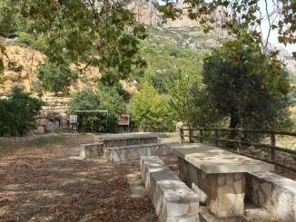 area de picnic La font - morera de montsant - youmekids3