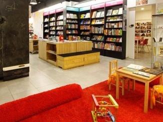 Racó infantil de la llibreria Abracdabra - Foto: Abracadabra