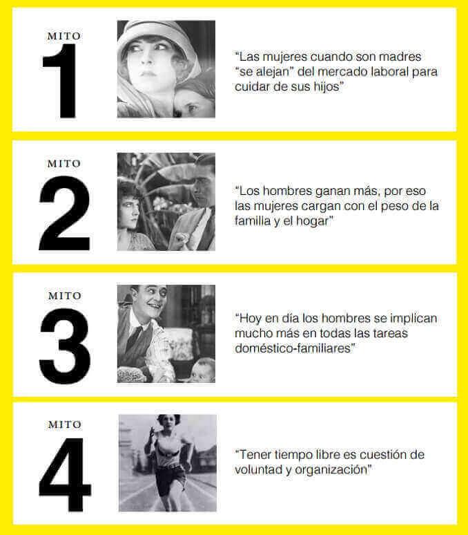 """El estudio """"Somos equipo"""" pretende desmontar 4 mitos en torno a la corresponsabilidad. - Foto: Club Malas Madres"""