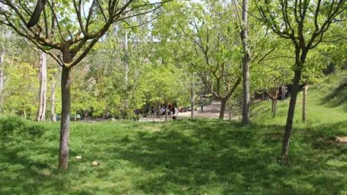 Esplanada al costat de l'àrea de pícnic on els nens poden jugar - foto: YouMeKids