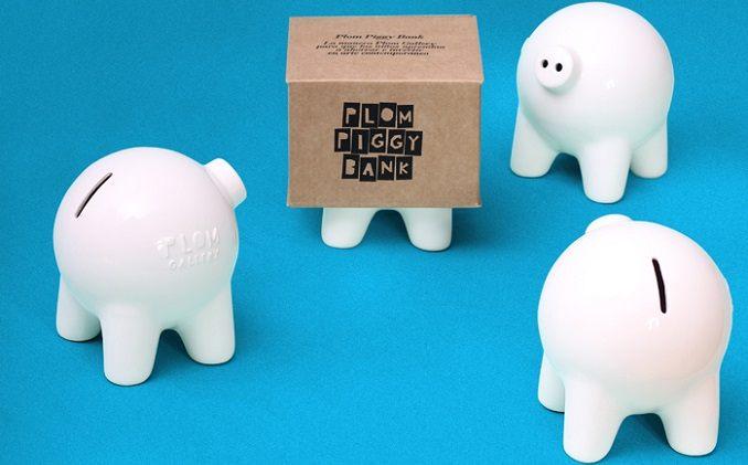 Plom Piggy Bank, el cerdito hucha. Primer paso para convertiros en pequeños coleccionistas! - Foto: Plomo Gallery