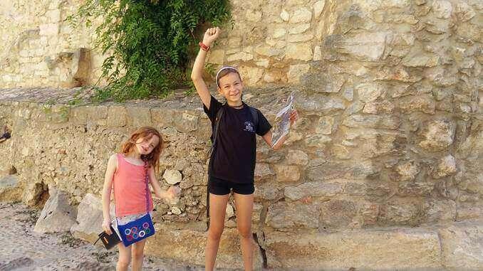 Circuit d'orientació Barri Vell de Girona - Foto: Mare de 3