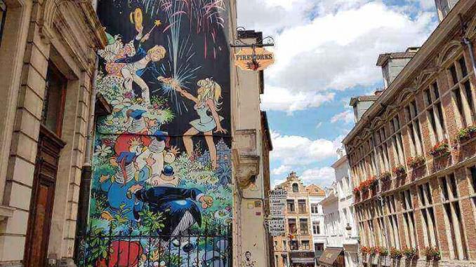 La ruta del cómic en Bruselas - Foto: YouMeKids