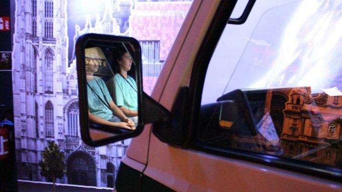 Pujats a una furgoneta que transporta cervesa, fem una visita virtual de la ciutat a la cerveseria De Koninck - Foto: YouMeKids