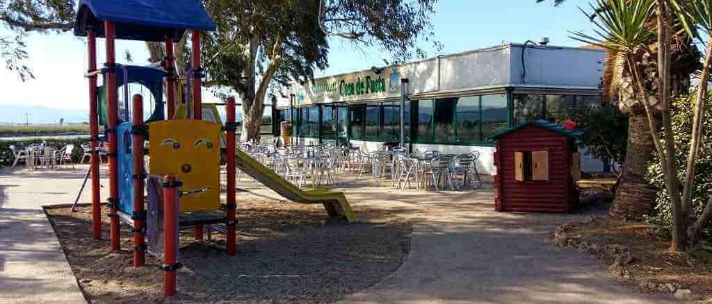 Parc infantil del restaurant Casa de Fusta - foto: Marede3