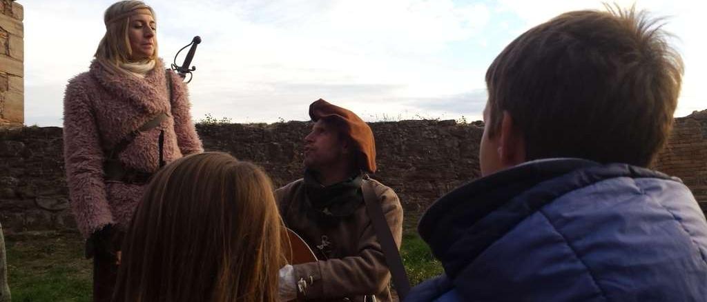 Visita teatralitzada al castell de Cardona - foto: Montserrat López