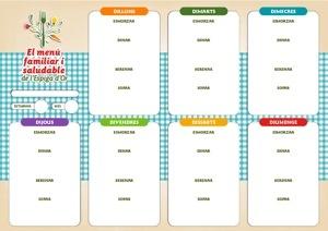 Planificador de menus setmanal