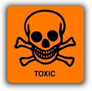 Icona de carcinogen, tòxic per a la reproducció i mutagènic
