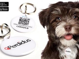 Placa identificativa intel·ligent Perdidus - ©Perdidus