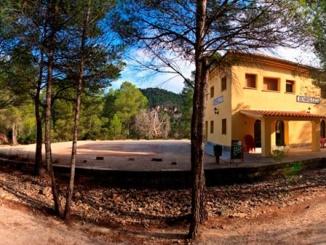 Antiga estació de Benifallet - Foto: Estació de Benifallet