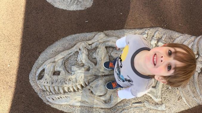 James al Museu d'història natural a Nova York