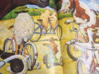 L'ànec va en bici - Foto: Editorial Juventut