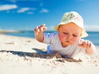 Nadó a la platja