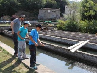 Pesca a la Fàbrica de Senterada - Foto: YouMeKids