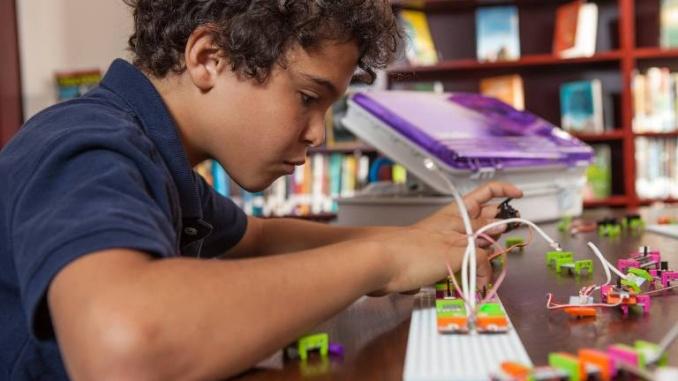 El joc d'electrònica littlebits estimula la creativitat - Foto: LittleBits