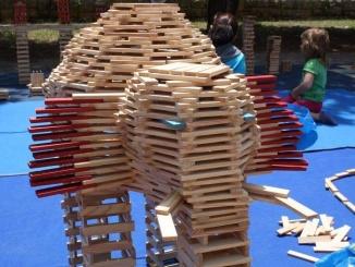 Elefant fet amb Kapla - Foto: YouMeKids