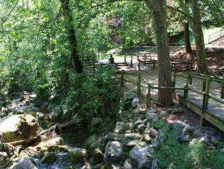 Area de picnic de la Font Negra Berga