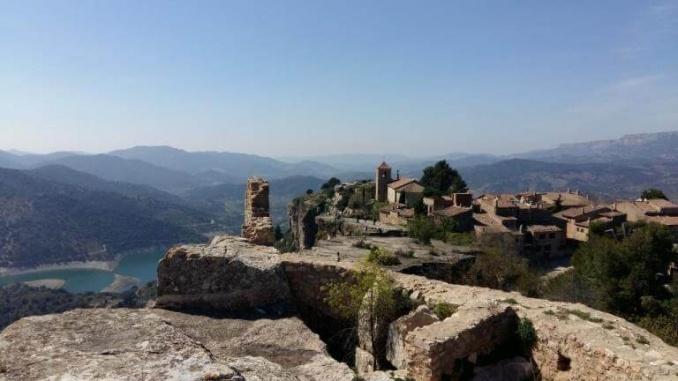 Siurana vista des del castell - foto: Marede3