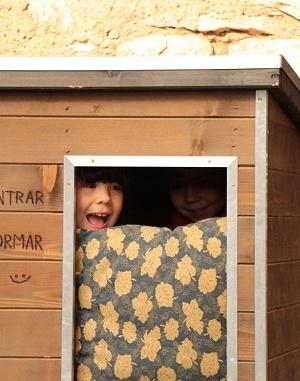 Uma a l'escola Petits Voladors - Foto: Cilia Willem