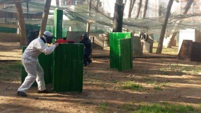 Circuit de Paintball al Bosc Aventura Salou - Foto: Marede3