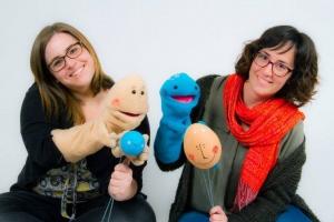 Les creadores de Namaka: Helena Ortiz (esquerra) i Sara Molina (dreta)