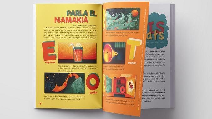 Número 0 de la revista infantil Namaka: Foto: Namaka