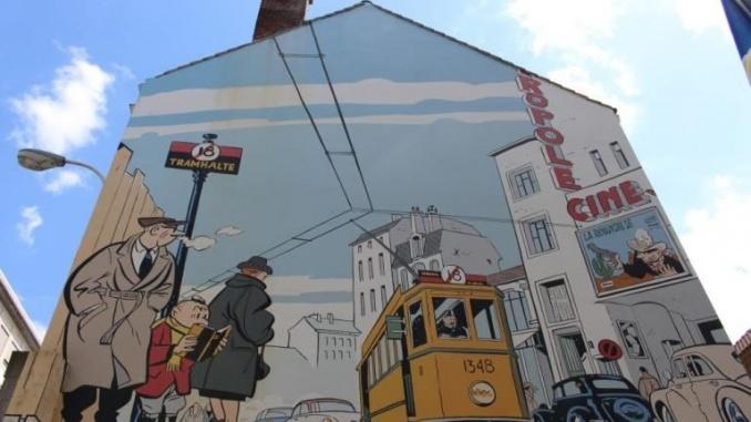 Mural de Le Jeune Albert - Foto: YouMeKids
