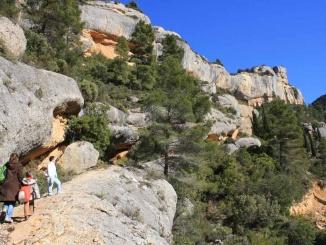 De camí a l'ermita de Sant Salvador a Margalef - Foto: YouMeKids