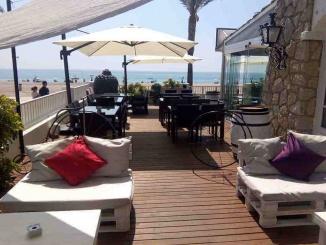 Terrassa amb vistes a la platja del restaurant Eclipse - Foto: Eclipse Miami Platja