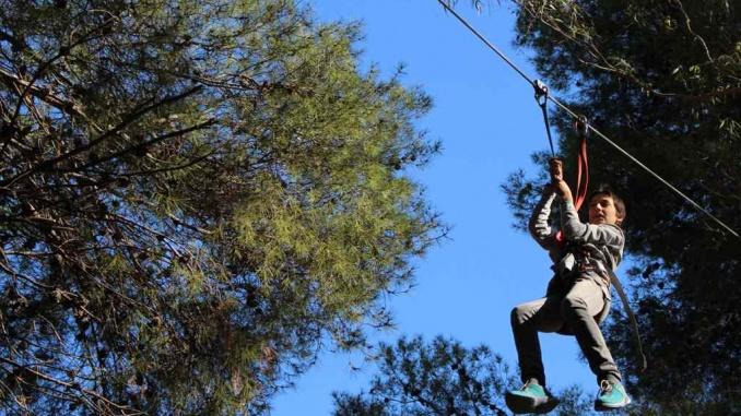 Parc d'aventures Diver a Coma-ruga - Foto: YouMeKids