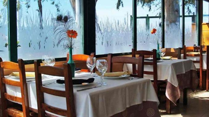 Restaurant Casa de fusta interior