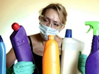 Els productes de neteja, dissolvents i ambientadors de la llar contenen substàncies químiques que poden tenir efectes nocius sobre la salut - foto: The Pinsta