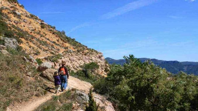 GR174 entre Sant Joan de Codolar i Albarca