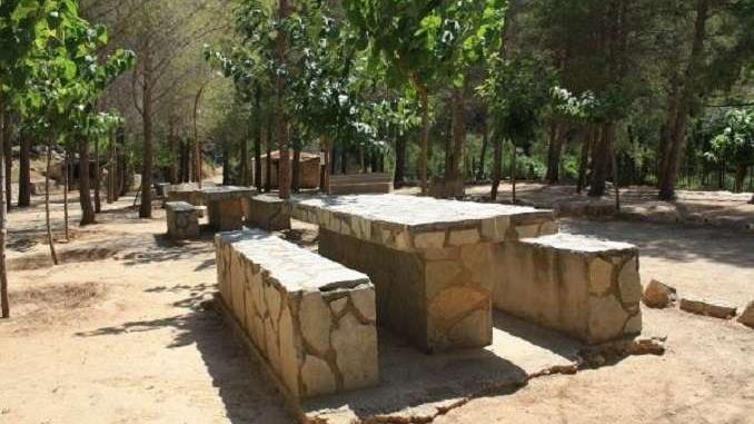 Àrea de pícnic de la Fontcalda - Foto: YouMekids