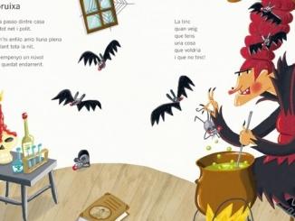 Detall del llibre 'Qui la diu, qui l'endevina' - Foto: CruïIlla