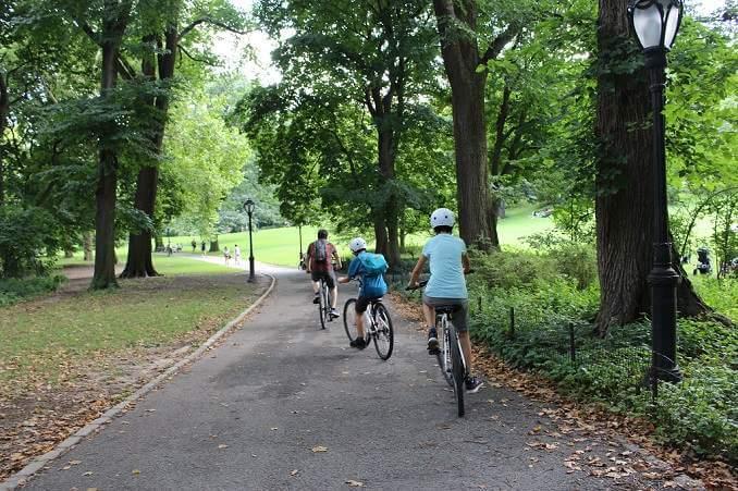 Volta a Central Park en bicicleta - foto: YouMeKids