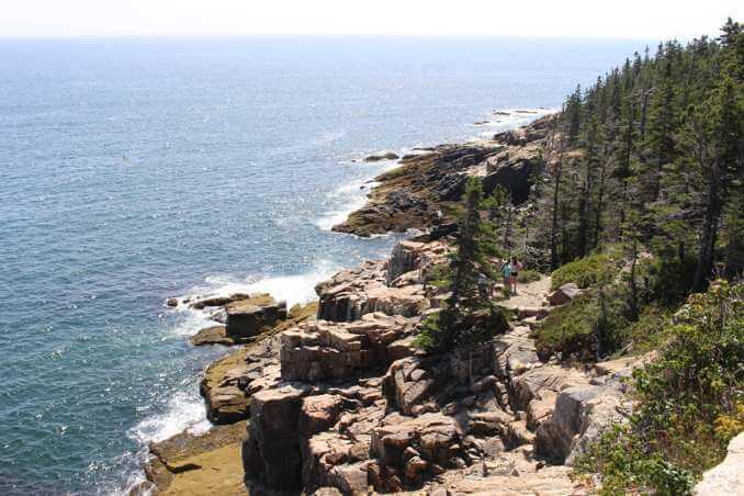 Otter Cliff - Acadia