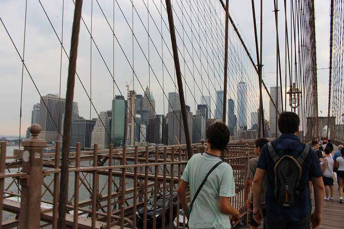 Vistes de Manhattan des del Pont de Brooklyn - foto: YouMeKids