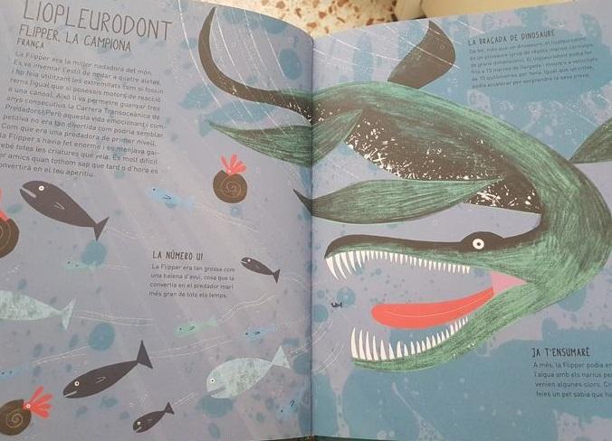 Flipper, el liopleurodont que es podia moure a 10 quilòmetres per hora